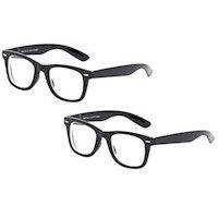 260a8a6c2fb3 PAKKETILBUD! 2 stk. Solbriller med styrke minus Retro-pakken