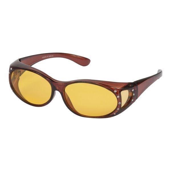 28cc75f5e410 ANTI-REFLEKS  Fit-over Natbriller med similisten (til briller) Sierra
