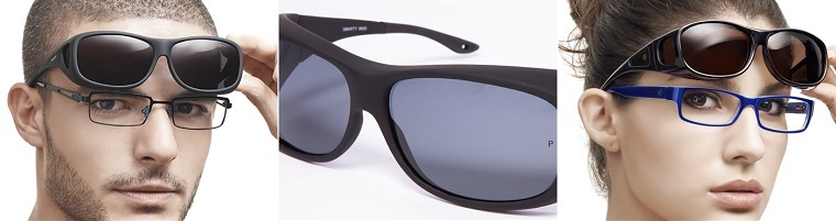 solbriller ovenpå briller