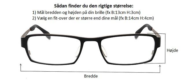 Fit over (Suncover) solbriller – Solbriller til dine briller